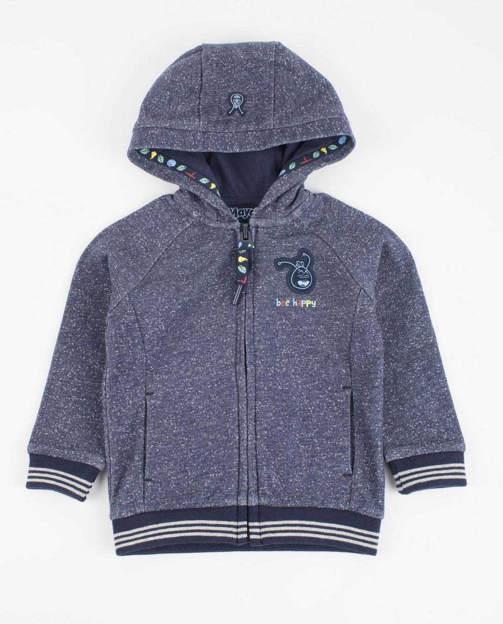 Donkerblauwe hoodie - Maya - Maja